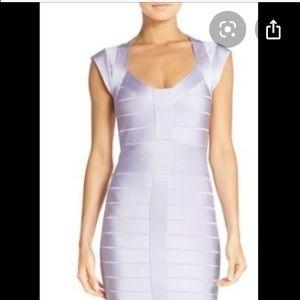Violet Bandage Dress